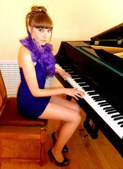 Красивое, вечернее,  фиолетовое платье