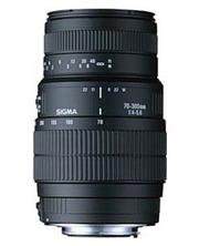 Sigma 70-300mm F4-5.6 DG MACRO для Canon