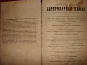 Cтаринная книга ветеринарный лечебник нач. 20века