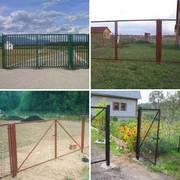 садовые ворота и калитки с доставкой по всей Беларуси