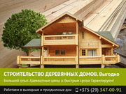 Строительство деревянных домов. Витебск.