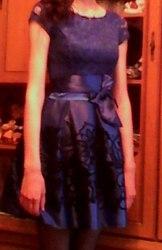 Продам вечернее платье 42-44р, платье в отличном  состоянии,  одето 1раз