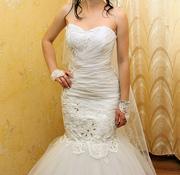 платье для торжественной церемонии бракосочетания