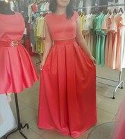 Платье-костюм выпускное